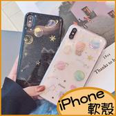 立體星空 iPhone11 Pro max手機殼iphone8 Plus軟殼 XR手機殼iX Xs max滴膠宇宙行星i7Plus 防摔i6s防刮