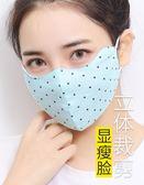 防曬口罩女防紫外線透氣春季薄款易呼吸夏天遮陽全臉面罩 LL218『時尚玩家』