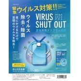 日本【VIRUS SHUT OUT】空氣除菌卡 隨身 攜帶式除菌盒 30日 預購