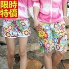 情侶款海灘褲(單件)-時尚印花五彩繽紛男女沙灘褲66z2【時尚巴黎】