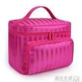 牛津布化妝包大容量便攜洗漱包旅行化妝品收納包可水洗化妝袋防水 遇見生活