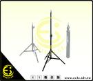 ES數位館 專業級 小型 1/4公頭 90CM 兩節式 低燈架 外拍燈架 攝影燈架 柔光閃架