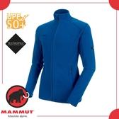 【MAMMUT Yadkin ML Jkt 男《群青藍》】1014-24961-5967/抗UV/保暖外套/刷毛中層