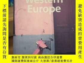 二手書博民逛書店lonelyplanet孤獨星球western罕見Europe西
