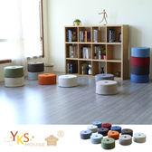 【YKSHOUSE】甜甜圈圓型極輕坐墊/和室墊(多色可選)B款