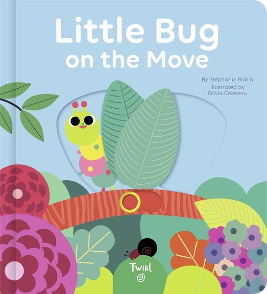 Little Bug On The Move 活潑的毛毛蟲操作書