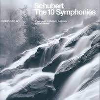 【正版全新CD清倉 4.5折】PHILIPS 馬利納(Neville Marriner)/舒伯特:交響曲全集【6CDs】