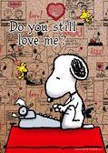 【拼圖總動員 PUZZLE STORY】寫小說 日本進口拼圖/Beverly/史努比 Snoopy/88P/軟木