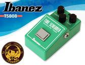 【小麥老師 樂器館】IBANEZ TS-808 TS808 Tube Screamer 仿真空管破音 效果器