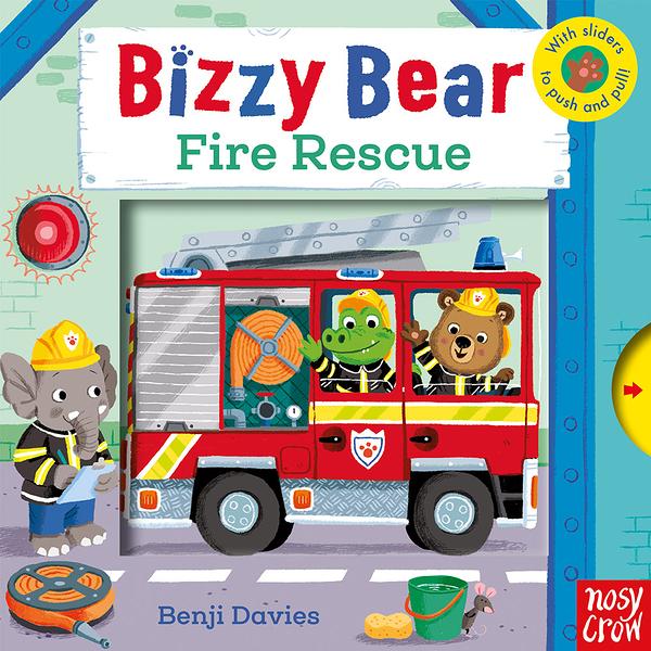 Bizzy Bear:Fire Rescue 消防員熊熊新奇操作書(英國版)