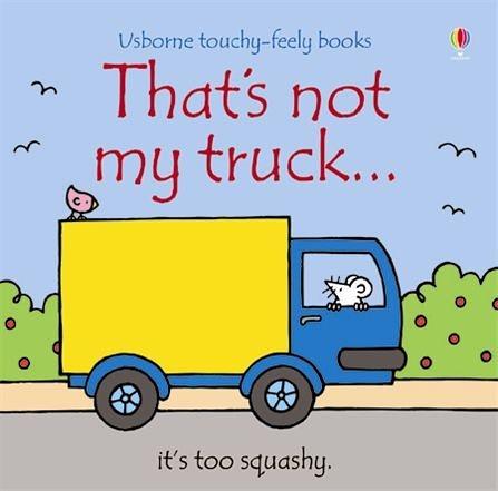 That's Not My Truck 那不是我的卡車觸摸書