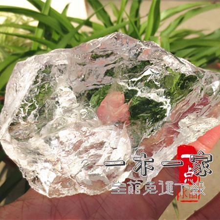 水晶石 純天然白水晶原石 大塊 白水晶毛料原料原礦 雕刻練手料晶體好
