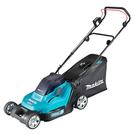 [ 家事達 ]牧田 MAKITA-DLM432PT2(附5.0ah電池*2、雙槽充電器) 36V 充電自走手推式草坪修剪機 割草機
