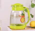 茶壺 冷水壺大容量玻璃耐高溫涼白開水杯茶壺套裝家用果汁壺防爆涼水壺【快速出貨八折下殺】