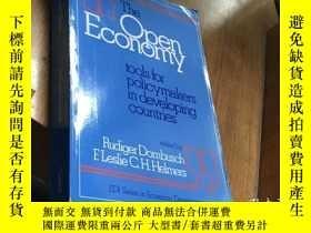 二手書博民逛書店The罕見Open Economy for policymake