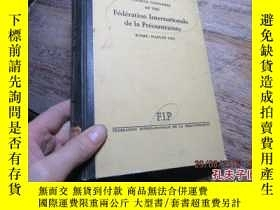 二手書博民逛書店fourth罕見congress of the federati