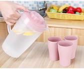 簡約家用大號容量透明花茶壺檸檬果汁壺晾涼白開水杯瓶冷水壺