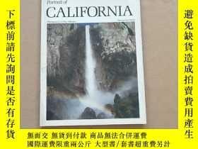 二手書博民逛書店Portrait罕見of CALIFORNIA 【英文原版美國加