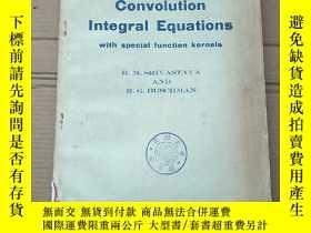 二手書博民逛書店convolution罕見integral equations(P2092)Y173412
