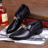 男皮鞋 正裝皮鞋 男鞋韓版商務秋冬新款男士皮鞋商務男鞋子《印象精品》q569