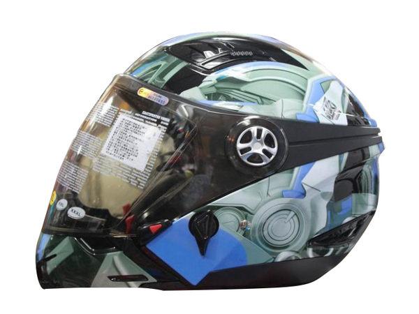 摩摩帽 變形金剛安全帽 全罩安全帽 DJ10C 柯博文 大黃蜂