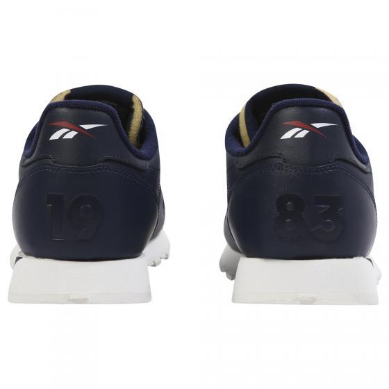 REEBOK CL LEATHER 男鞋 休閒 皮革 經典 舒適 透氣 藍【運動世界】DV5050