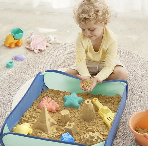 太空玩具沙安全寶寶沙子兒童沙室內沙灘玩具套裝不沾手黏土【大碼百分百】
