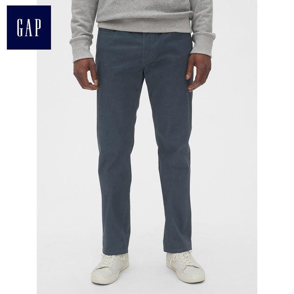 Gap男裝 柔軟修身彈力牛仔長褲 492733