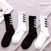潮牌ins長襪子男女中筒襪潮流韓版個性歐美街頭嘻哈籃球襪學院風 晴天時尚館