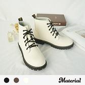 短靴 高質感綁帶短靴 MA女鞋 T7704
