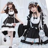 兒童洛麗塔童裝暗黑國小lolita裙公主洋裝女童蘿莉塔【奇趣小屋】