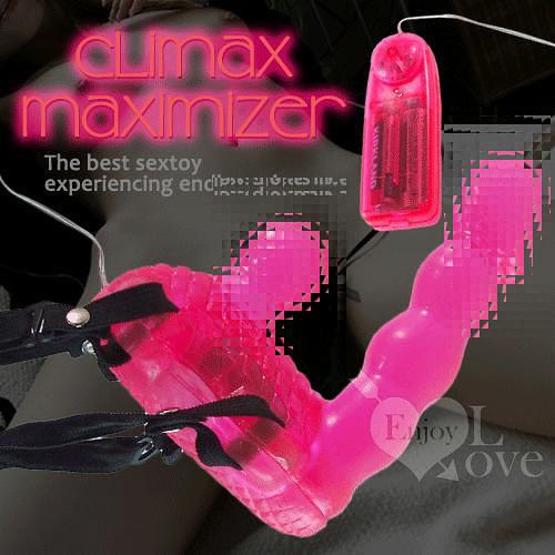 【滿額免運費】  【獨愛情趣用品】CLIMAX 極致高潮﹝女性自慰穿戴按摩器﹞
