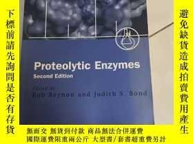 二手書博民逛書店Proteolytic罕見Enzymes: A Practica