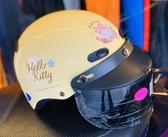 卡通安全帽,CA110,熊KITTY/黃,附抗UV-PC安全鏡片