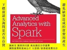 二手書博民逛書店Advanced罕見Analytics With SparkY364682 Sandy Ryza O reil