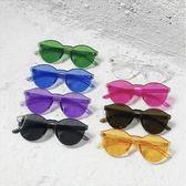 現貨-韓國ulzzang東大門無框透明情侶糖果色太陽鏡港風潮時尚歐美墨鏡294