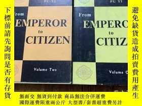 二手書博民逛書店3200:《From罕見emperor to citizen 》
