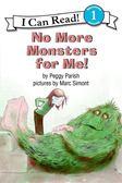 (二手書)An I Can Read Book Level 1: No More Monsters for Me! (Book & CD)..