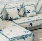 沙發墊坐墊防滑沙發蓋巾-hong002...
