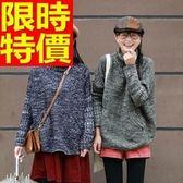 女款高領毛衣長袖-浪漫時尚寬鬆保暖女針織毛衣3色64j42[巴黎精品]