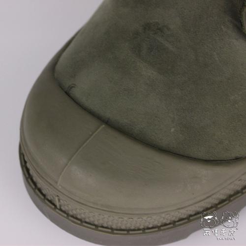 法國 Palladium Waterproof 墨綠色 防水短靴 中童靴 NO.R2219