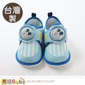 寶寶鞋 台灣製迪士尼米奇正版閃燈嗶嗶鞋 魔法Baby