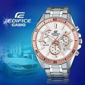 CASIO手錶專賣店 CASIO EDIFICE_EFR-552D-7A_礦物玻璃_碼錶_不鏽鋼錶帶_男錶