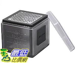 [2美國直購] Microplane 3-in-1 Cube Grater- Black 刨刀 研磨盒