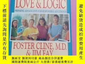 二手書博民逛書店PARENTING罕見TEENS WITH LOVE & LOGIC,英文原版Y267268 Foster C