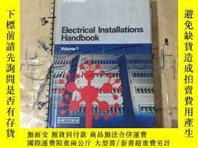二手書博民逛書店Electrical罕見installations handbo