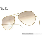 RayBan 太陽眼鏡 RB3025 0013E -62mm (金-古銅粉) 搶手經典款墨鏡 # 金橘眼鏡