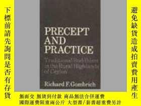 二手書博民逛書店Precept罕見And PracticeY364682 Richard Gombrich Oxford Un