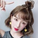 限定款韓系假髮女短髮蓬鬆修臉女士短髮韓系短髮短捲髮BOBO頭捲瀏海