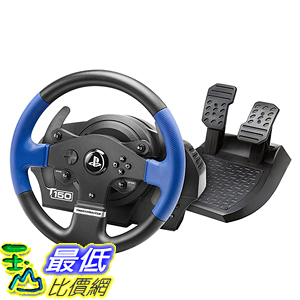 [美國直購] Thrustmaster VG T150 賽車方向盤 Force Feedback Racing Wheel for PlayStation 4
